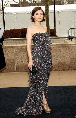Ginnifer Goodwin Wearing A Yves Saint Art Print