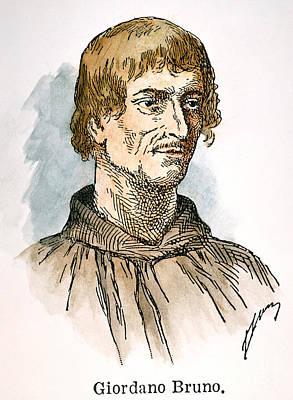 Giordano Bruno Photograph - Giordano Bruno by Granger