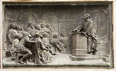 Giordano Bruno Photograph - Giordano Bruno Teaching by Sheila Terry
