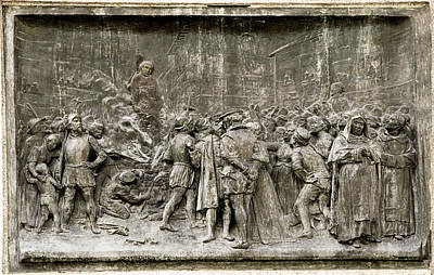 Giordano Bruno Photograph - Giordano Bruno's Execution by Sheila Terry