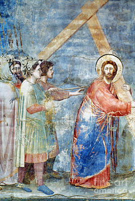 Giotto: Road To Calvary Art Print
