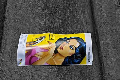 Girl In The Street Art Print by Bennie Reynolds