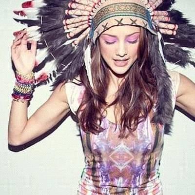 Model Wall Art - Photograph - #girl #model #free #spirit #follow #me by Isidora Leyton