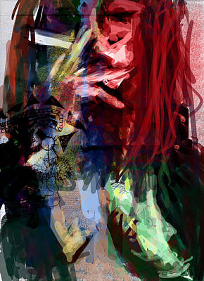 Thoughts Digital Art - Girl Stuff by James Thomas