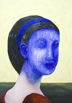 Girl With No Face Art Print by Kazuya Akimoto
