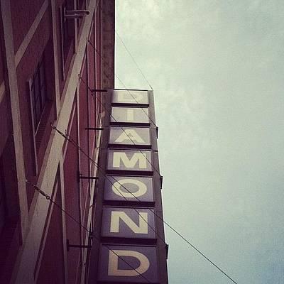 Angle Photograph - #girls #bestfriend #diamond #sign by Jenna Luehrsen
