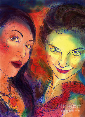 Digital Art - Ladies Night by Angelique Bowman