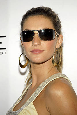 Ad Campaign Photograph - Gisele Bundchen At Arrivals For Vogue by Everett