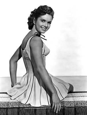 Give A Girl A Break, Debbie Reynolds Art Print by Everett