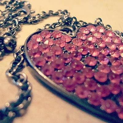 Jewelry Wall Art - Photograph - Give Me Your Heart by Sarah Buczek