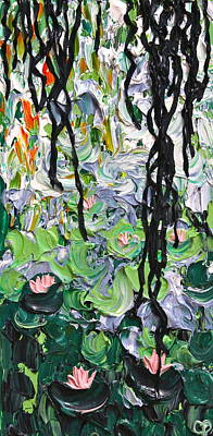 Lilly Pond Painting - Giverny II by Cherie Duty