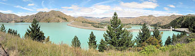 Photograph - Glacial Lake Nz by C H Apperson