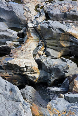 Shelburne Falls Photograph - Glacial Pothole II by Michael Friedman