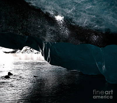 Photograph - Glacier - Iceland by Louise Fahy
