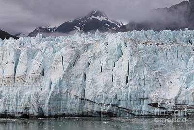 Photograph - Glacier At Glacier Bay by Pamela Walrath