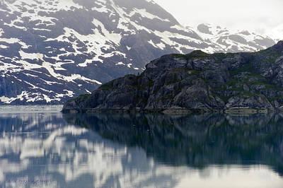 Photograph - Glacier Bay by Edward Kovalsky
