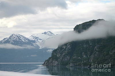 Photograph - Glacier Bay In Fog by Pamela Walrath
