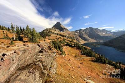 Photograph - Glacier Hidden Lake by Adam Jewell