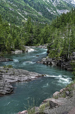 Photograph - Glacier National Park by Don Wolf