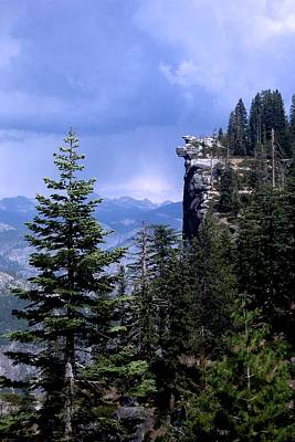 Photograph - Glacier Point From Four Mile Trail by Eric Tressler