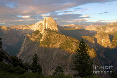 Photograph - Glacier Point Glow by Adam Jewell