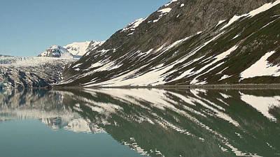 Glacier Receeding Art Print