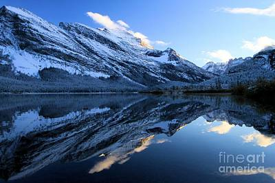 Photograph - Glacier Reflections by Adam Jewell