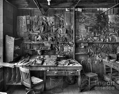 Gladding Mcbean Engineer's Room Art Print by Ron Schwager