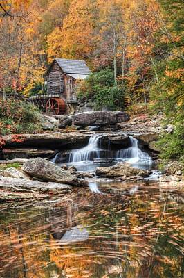 Glades Creek Mill Art Print