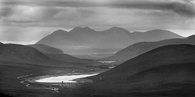 Photograph - Glascarnoch Dam by Joe Macrae