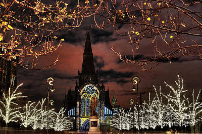 Photograph - Glasgow Cathedral by Roddy Atkinson