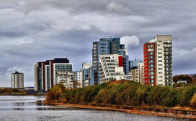 Photograph - Glasgow City Scape by Fiona Messenger