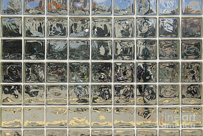Glass Block Wall Art Print by Roberto Westbrook