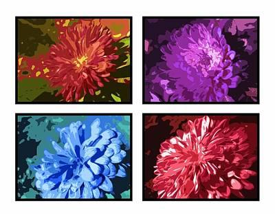Priska Wettstein Pink Hues - Glass flowers by Sumit Mehndiratta