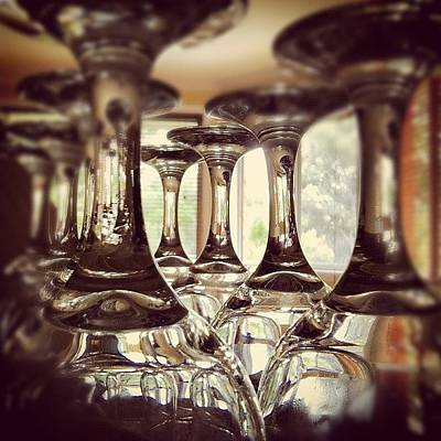 #glass #glasses #wine #drink #cup Art Print