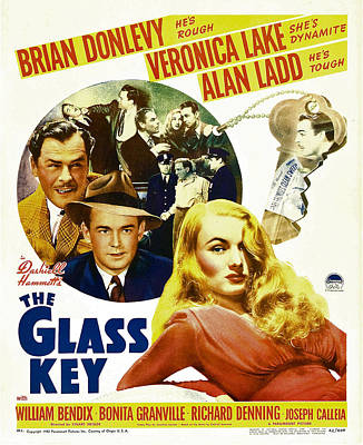 Postv Photograph - Glass Key, The, Brian Donlevy, Alan by Everett