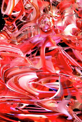 Digital Art - Glass Macro Xx by David Patterson
