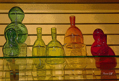 Photograph - Glass Menagerie by Suzanne Gaff