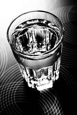 Photograph - Glass Of Water by Mustafa Otyakmaz