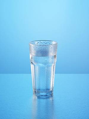 Photograph - Glass Of Water by Paul Biddle