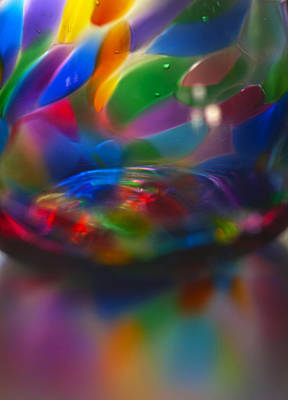 Photograph - Glass Rainbow I by Stephen Anderson