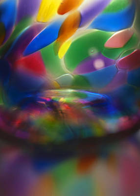 Photograph - Glass Rainbow II by Stephen Anderson