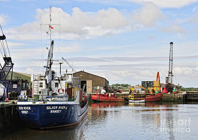 Glasson Dock Art Print by Jason Connolly
