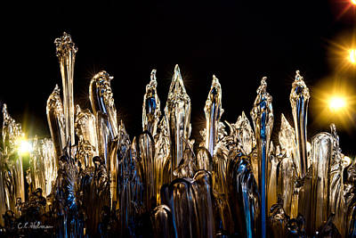 Photograph - Glassy Spires by Christopher Holmes