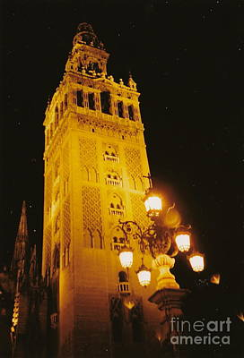 Photograph - Gleaming Giralda by Barbara Plattenburg