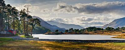 Glen Affric Photograph - Glen Affric Panorama I by Gary Eason