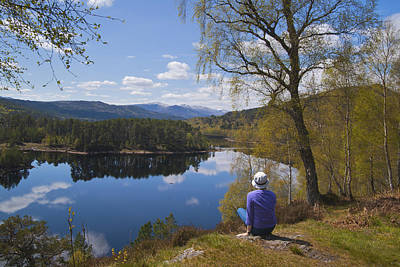 Glen Affric Photograph - Glen Affric, Spring, Inverness by Dennis Barnes
