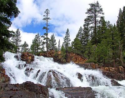 Photograph - Glen Alpine Falls by Ernie Claudio