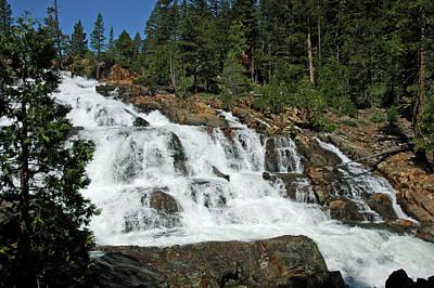 Striking Photograph - Glen Alpine Falls by LeeAnn McLaneGoetz McLaneGoetzStudioLLCcom