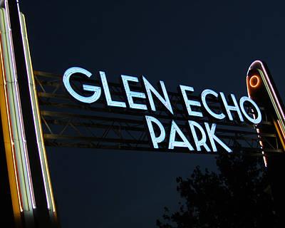 Glen Echo Park Photograph - Glen Echo Park by Brian M Lumley